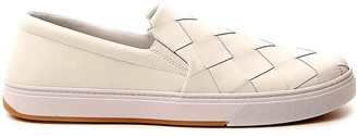 Bottega Veneta Intrecciato Slip On Sneakers