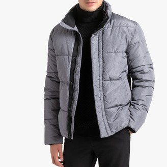 La Redoute Collections Short Padded Jacket with High Neck and Pockets