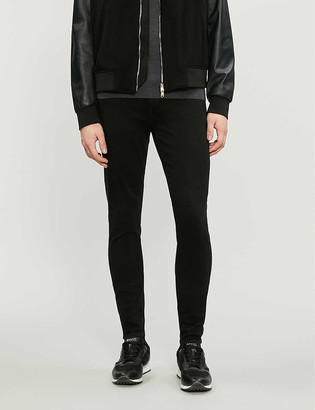 7 For All Mankind Ronnie Tapered Luxe Performance Plus skinny tapered jeans