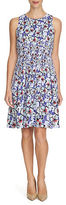 Cynthia Steffe Flared Island Floral Dress