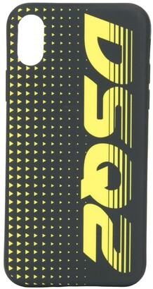 DSQUARED2 logo iPhone X/XS case