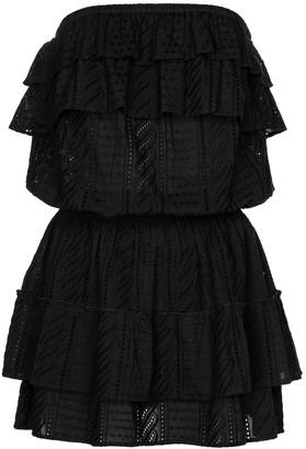 Melissa Odabash Mia strapless cotton minidress