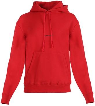Saint Laurent Crimson Logo Hoodie