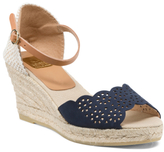 Made In Spain Ankle Strap Leather Wedges