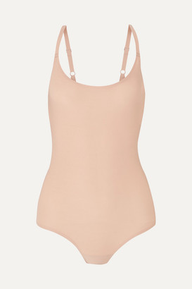 Chantelle Soft Stretch-jersey Bodysuit - Sand