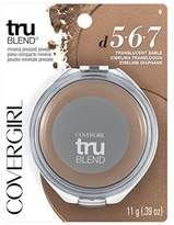 Cover Girl truBlend Pressed Blendable Powder, Translucent Sable .39 oz (11 g) by
