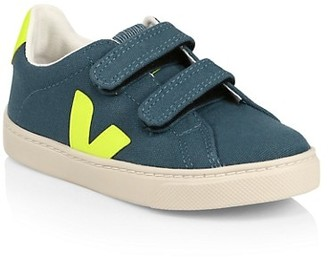 Veja Baby's & Little Kid'sTextile Grip-Tape Sneakers