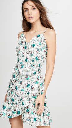 Rebecca Taylor Sleeveless Carnation Tank Dress