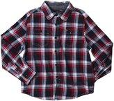 Buffalo Siorku Plaid Shirt (Kid) - Whale Combo-7