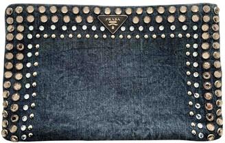 Prada Blue Denim - Jeans Clutch bags