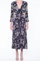 A.L.C. Josefa Cutout Silk Dress