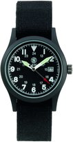 Smith & Wesson Men's SWW-1464-BLK Military Multi Canvas Straps Watch