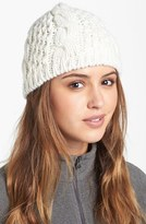 The North Face Women's 'Minna' Cable Knit Beanie - White