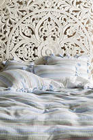 Anthropologie Woven Stripe Duvet