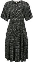 Diane von Furstenberg polka dots wrap dress - women - Silk - 2