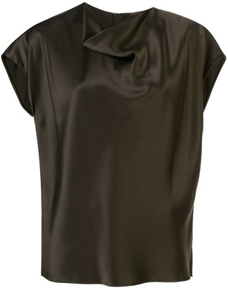 Adam Lippes Cowl Neck Blouse