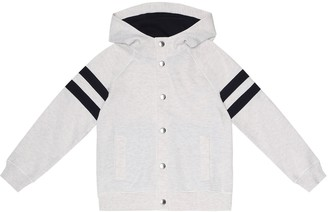 BRUNELLO CUCINELLI KIDS Cotton-blend hoodie