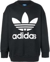 adidas logo sweater - men - Cotton - XS