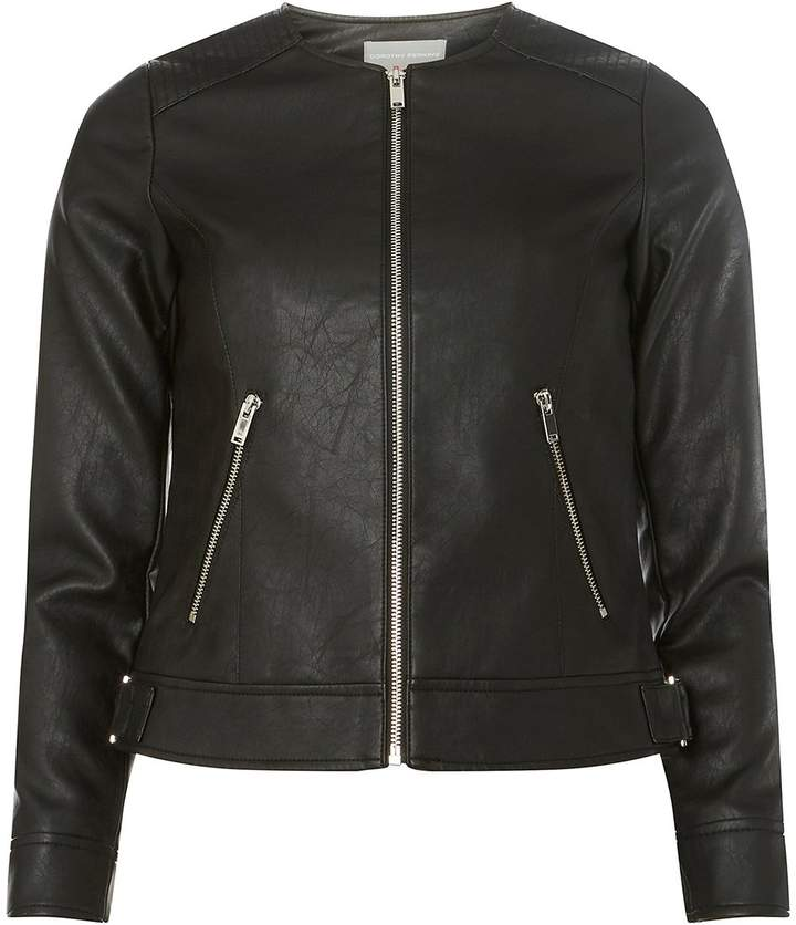 fe42332981d0d Petite Leather Jacket - ShopStyle UK