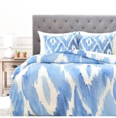 DENY Designs Painterly Ikat Duvet Cover & Sham Set