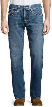 True Religion Ricky River Bed Denim Jeans, Mid Blue