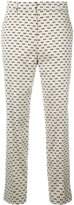 Christian Wijnants Little Dots trousers - women - Ramie/Spandex/Elastane/Viscose - 36
