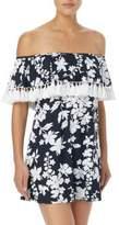 MICHAEL Michael Kors Floral Off-The-Shoulder Cover-Up