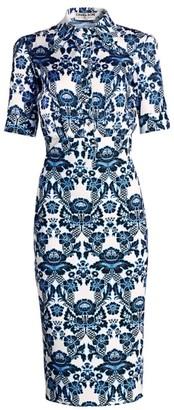 Chiara Boni Archie Printed Button Dress