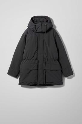 Weekday Zimbra Padded Jacket - Black