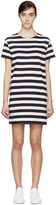 Nlst Navy and Cream Striped T-shirt Dress