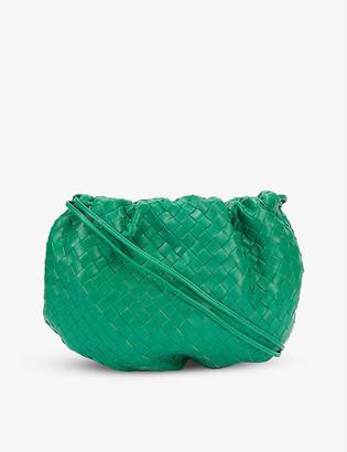 Bottega Veneta The Pouch intrecciato leather shoulder bag
