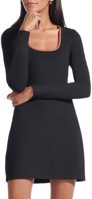 STAUD Joint Mini A-Line Dress