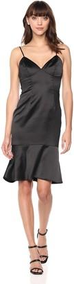 Bardot Women's Henley Flounce Dress