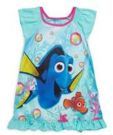 AME Sleepwear Little Girl's & Girl's Dory Ruffled Dress