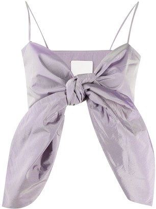 Loulou Bow Detail Top