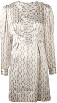 Isabel Marant printed dress - women - Silk - 36