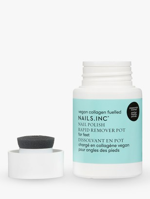Nails Inc Nail Polish Rapid Remover Pot for Feet, 60ml