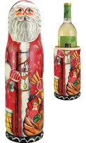 Russian Santa Box 1 Bottle Tabletop Wine Bottle Rack The Holiday Aisle