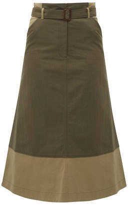 Max Mara Circolo Skirt - Womens - Khaki