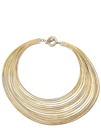 Josie Natori Spiral Stacked Necklace