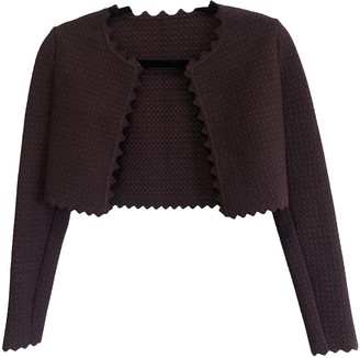 Alaia Burgundy Knitwear for Women