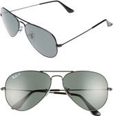 Ray-Ban Original 58mm Aviator Sunglasses