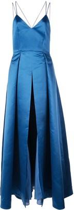 Alice + Olivia Marilla strappy gown
