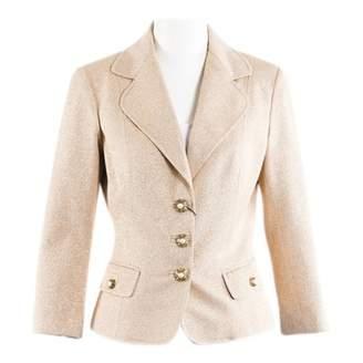 Dolce & Gabbana Gold Polyester Jackets