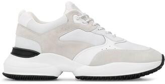 Hogan Colour-Block Panel Sneakers
