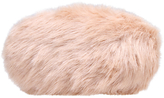 Carvela Glory Faux Fur Clutch Bag