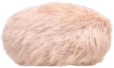 Carvela Glory Faux Fur Clutch Bag