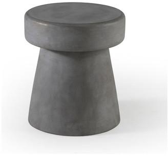 Bassett Mirror Luna Scatter Table, Natural Concrete