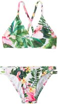 Seafolly Girls' Tropical Trikini Set (614) - 8148030