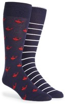 Polo Ralph Lauren Men's Whales 2-Pack Socks